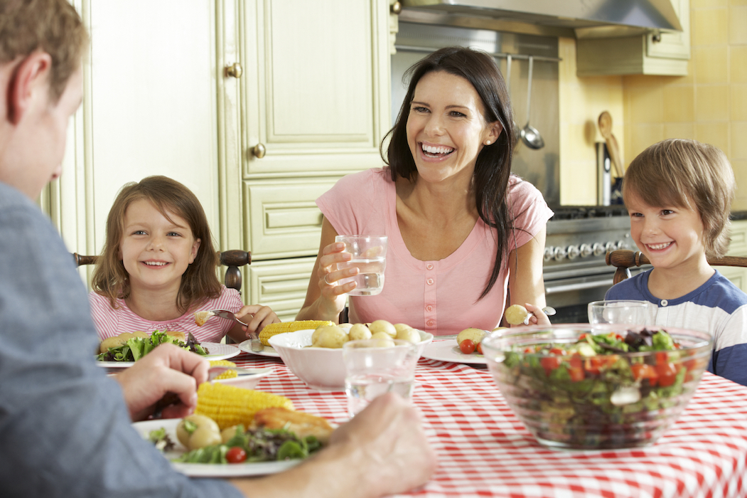 Its Simple Have A Family Meal Together Once Day
